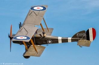 Royal Aircraft Factory BE2e A2943 G-CJZO (Replica)