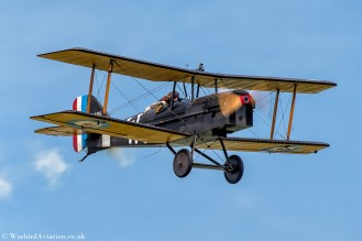 Royal Aircraft Factory SE5a replica B595 (G-BUOD)