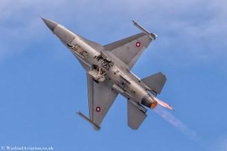 Royal Danish Air Force F-16AM E-607 Demo