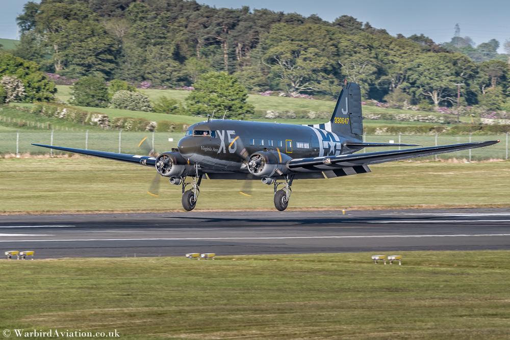 Douglas C-47 N62CC Virginia Ann