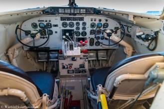 c-47 N47E Miss Virginia Cockpit