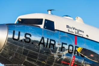 c-47 N47E Miss Virginia