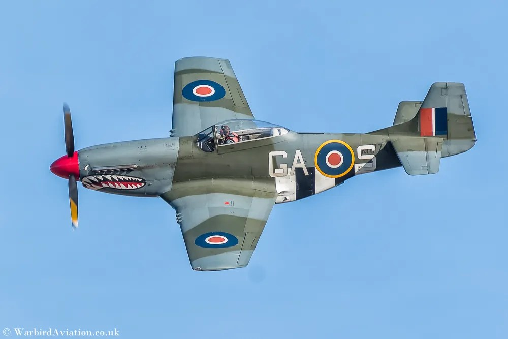 North American P-51D Mustang G-SHWN 'The Shark'