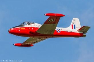 BAC Jet Provost T.5 XW324 (G-BWSG)