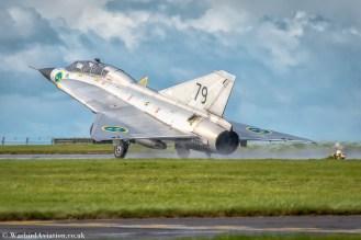 Scampton Airshow 2017 Arrivals