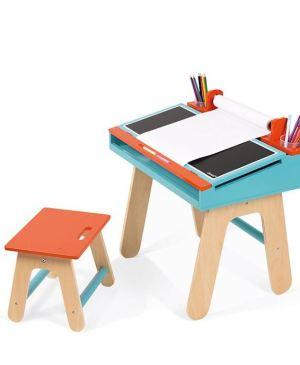 Orange And Blue School Desk