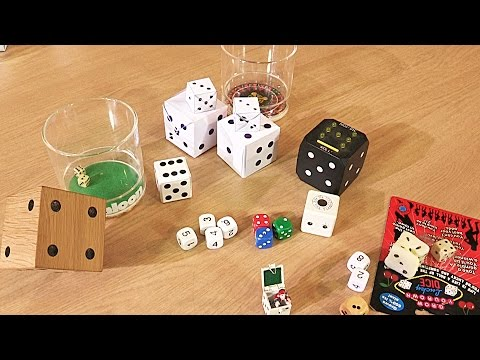 Random Video: More Amazing Dice from Tim's Collection