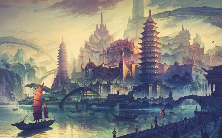 Water Cityscapes from Wallpaper Fo
