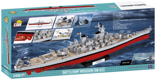 Back of cobi USS Missouri Set
