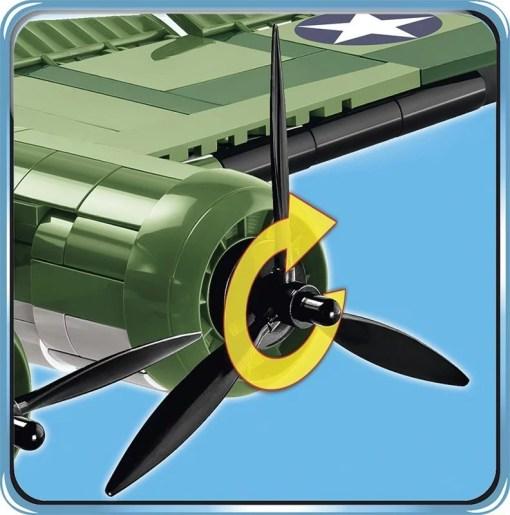 COBI B-17 Memphis Belle Bomber Set Propellers