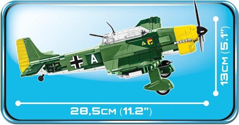 COBI Junkers JU87B Stuka Set Length