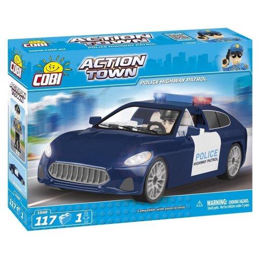 Cobi Action Town Highway patrol Vehicle