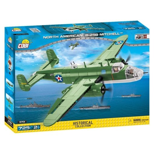 Cobi B-25B Mitchell Bomber Set