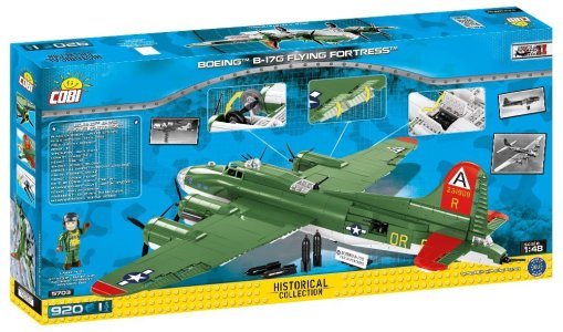 Cobi Boeing B-17G Set box detail