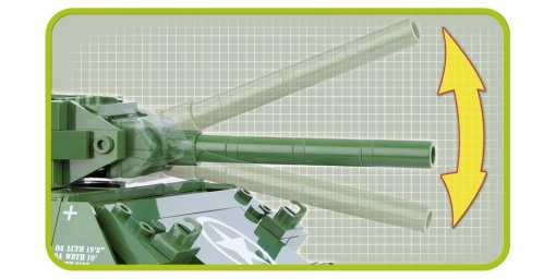 Cobi M-10 Wolverine Tank Set Cannon