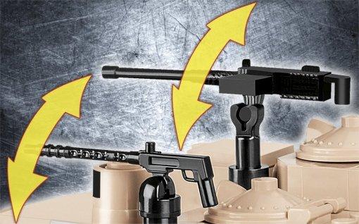 Cobi M1A2 Abrams Tank Set Cobi M1A2 Abrams Tank Set Guns