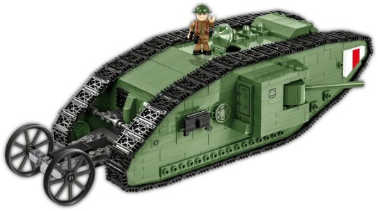 Cobi Mark I Tank Set With Driver