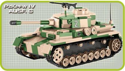 Cobi Panzer IV Tank Set (3 in 1) AUSF G