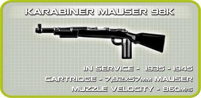 Cobi Panzer IV Tank Set (3 in 1) Mauser 98k