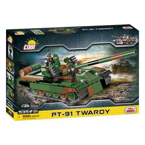 Cobi Polish PT-91 TWARDY Tank Set (2612)