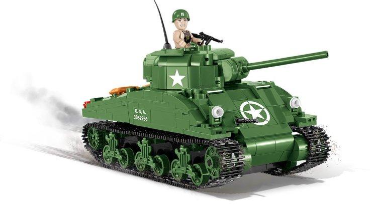 Cobi Sherman M4A1 Tank Set best Price