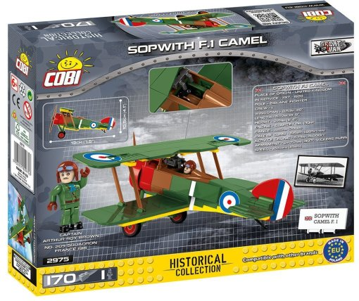 Cobi Sopwith Camel F1 Set Box details 8