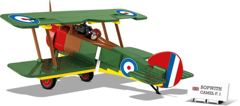Cobi Sopwith Camel F1 Set free shipping 6