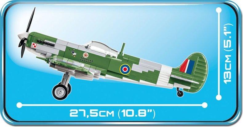 Cobi Spitfire MK VB Set Spec length