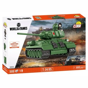 Cobi T-34-85 World Of Tanks Set