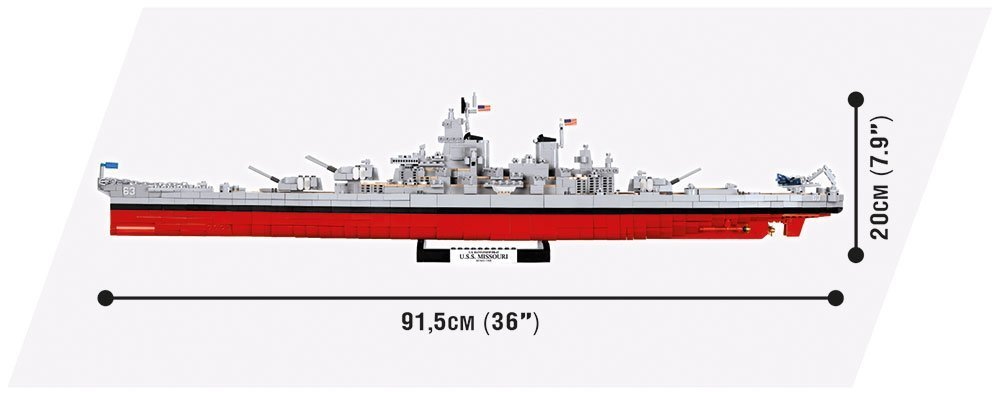 Cobi USS Missouri Length
