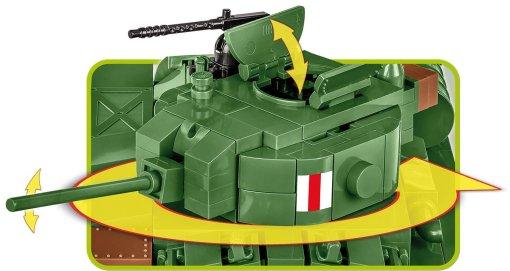 Cobi Valentine MK III Brick Set Turret