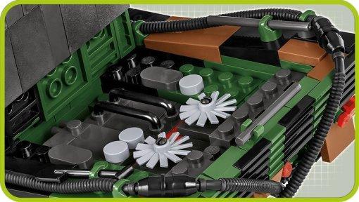 Cobi leopard 2A4 set engine compartment