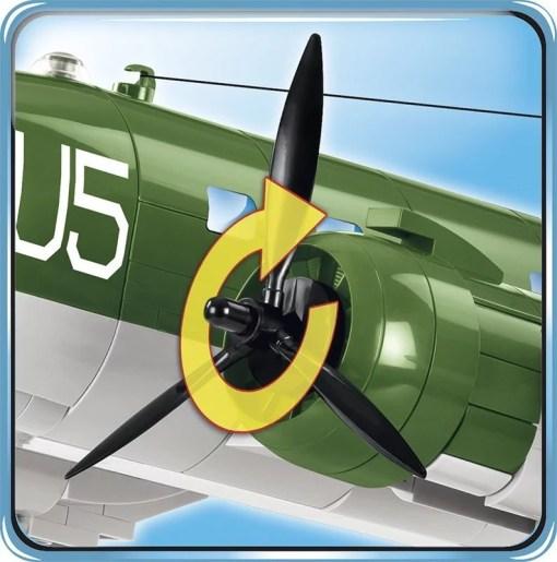 COBI C47 Skytrain Set propeller