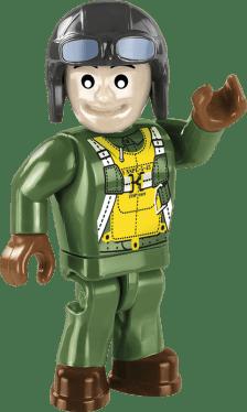 COBI C47 Skytrain pilot