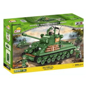 COBI Sherman Easy Eight Tank Set
