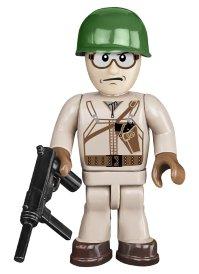 COBI Sherman Easy Eight Tank Set commander