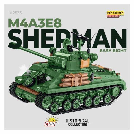 COBI Sherman Easy Eight Tank Set
