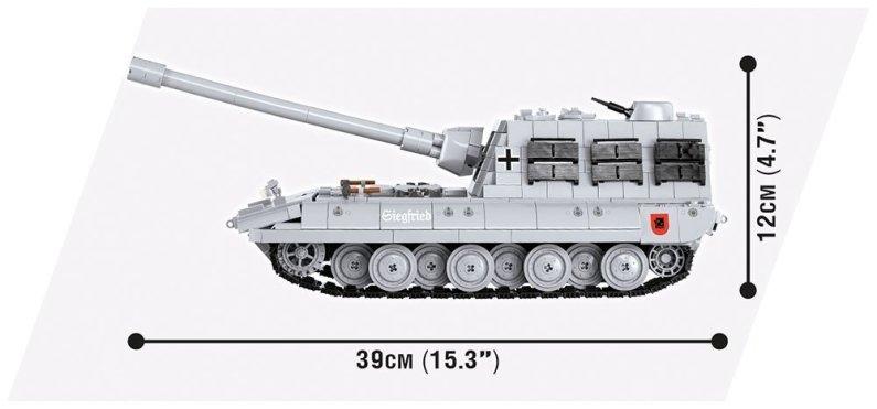 Cobi WOT E 100 Jagdpanzer Size