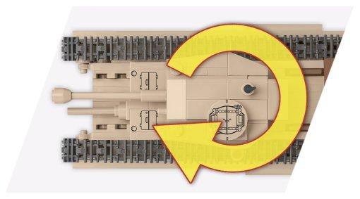 COBI 148 Scale Churchill I Turret
