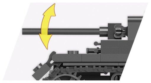 COBI 148 Scale Panzer III Set (3062) Barrel