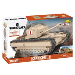 COBI 148 Scale Churchill I Set