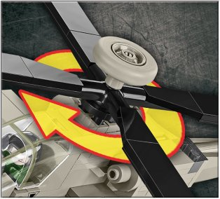 COBI AH-64 Apache Set (5808)Main Rotor