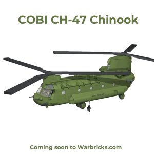 COBI CH047 CHINOOK Helicopter USA