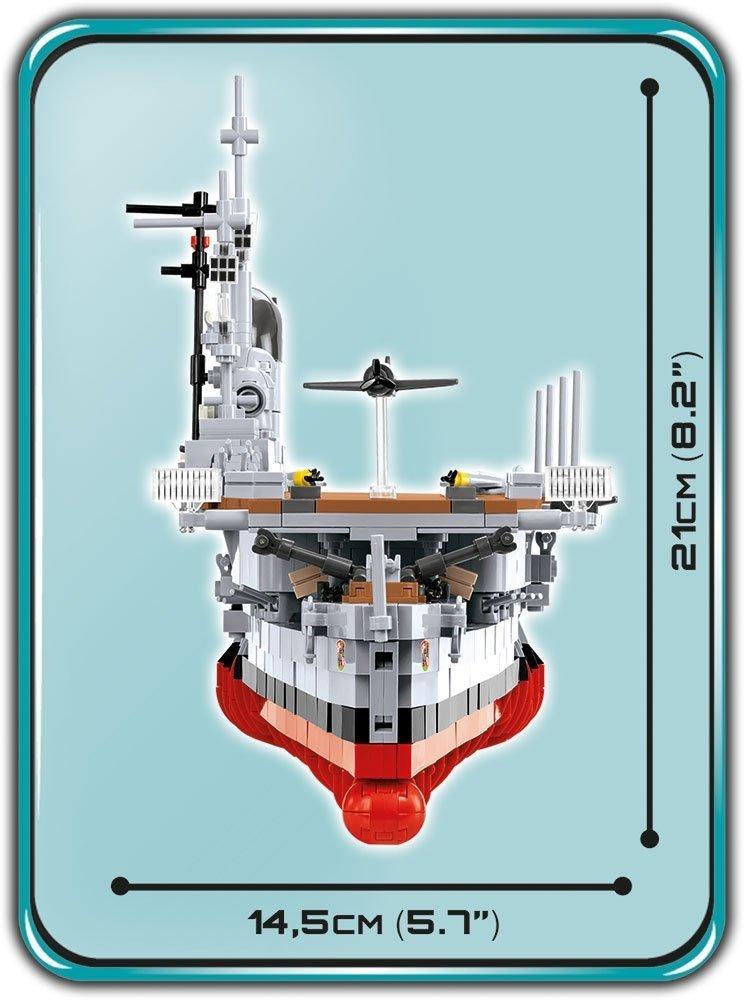 COBI Graf Zeppelin Carrier Set size