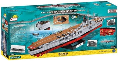 COBI Graf Zeppelin Carrier Set