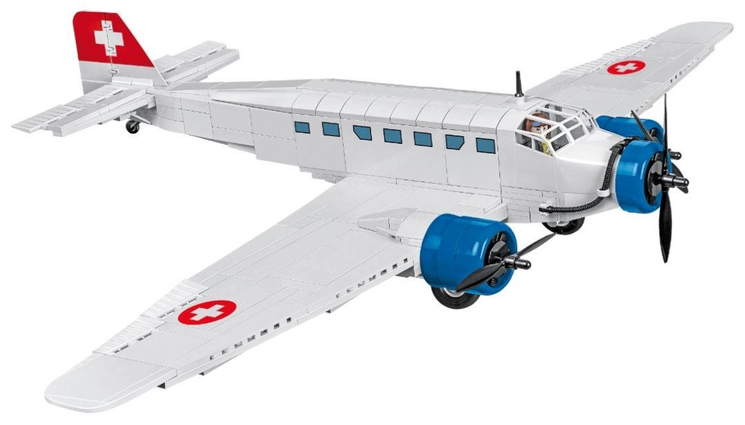COBI Junkers JU-52 Swiss Version (5711) USA