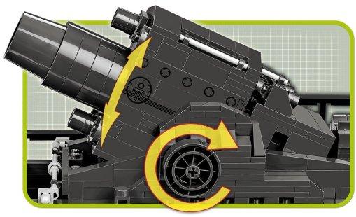 COBI KARL-Gerat 040 Set gun details