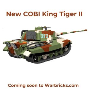 COBI King Tiger PzKpfw VI Set