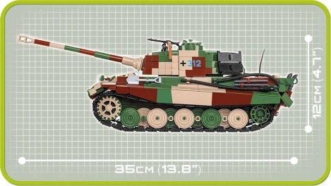 COBI King Tiger PzKpfw VI Set Length