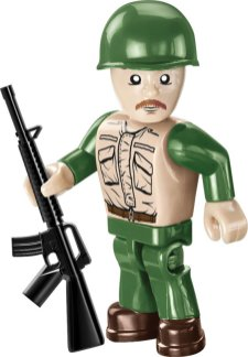COBI M60 Patton Tank Figure